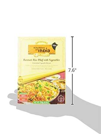 Amazon com   Kitchens Of India Biryanis Hyderabadi Biryani  Basmati Rice  Pilaf with Vegetables  8 8 Ounce Boxes  Pack of 6     Packaged Rice Pilaf    Grocery  Amazon com   Kitchens Of India Biryanis Hyderabadi Biryani  . Amazon Kitchens Of India Butter Chicken. Home Design Ideas