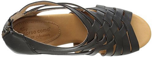 Sandal Como Sporty Goat Black Dress Women's Genni Corso BqwIa
