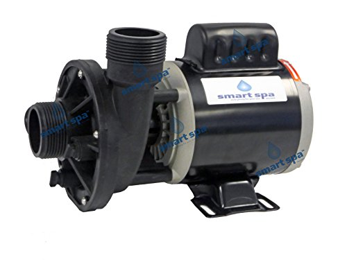 "Smart Spa Universal replacement Spa Hot Tub Circulation Pump dual voltage- 115v/230 volt -1.5"" x 1.5"" - OEM replacement for some Aqua Flo - Circ-Master CMHP, Gecko, Waterway"