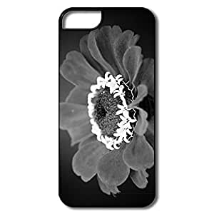 White Crown Flower IPhone 5 /5s Case, Custom Movies Design For IPhone 5
