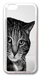 ACESR Cat Luxury iPhone 6 Cases, TPU Case for Apple iPhone 6 (4.7inch) Transparent