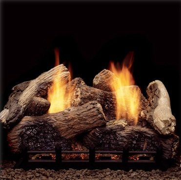 Amazoncom Monessen Berkley Oak Ventless Gas Logs Remote Ready