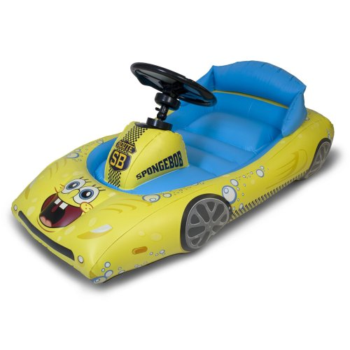 SpongeBob SquarePants Inflatable Sports Car for iPad by CTA Digital (Image #2)