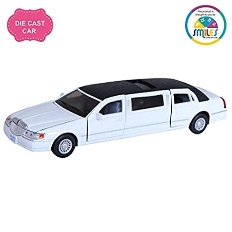 Buy Smiles Creation Kinsmart 1 38 1999 Lincoln Town Car Stretch