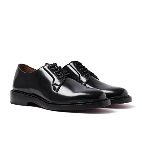 Bass Monogram Derby Black Leather Shoes shipping discount sale with mastercard cheap online buy cheap exclusive discount for cheap cheap excellent TBI3JH