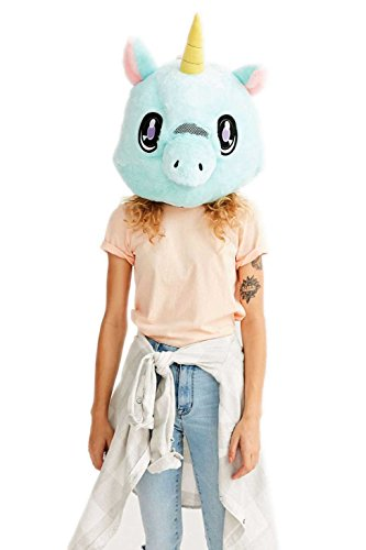 Animal Head Costume (Big Fat Head (Unicorn))