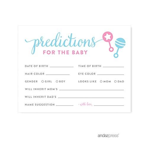 Andaz Press Gender Predictions 20 pack