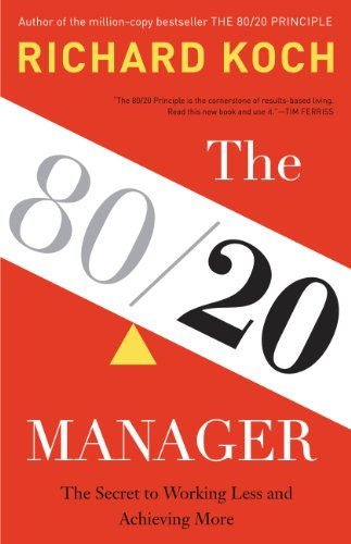 Amazon the 8020 manager the secret to working less and the 8020 manager the secret to working less and achieving more by fandeluxe Choice Image