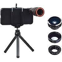 Apexel Optical 12X Zoom Camera Mobile Phone Telephoto/Wide Angle/Fisheye/Macro Lens with Hard Back Case for iPhone 7