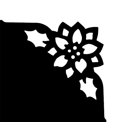 Jumbo Eck-Stanzer 4,3 cm x 4,3 cm Weihnachtsstern