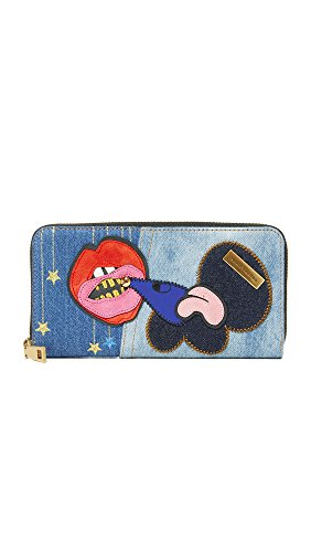 Marc Jacobs Women's Recruit Nomad Wallet, Denim, One Size by Marc Jacobs