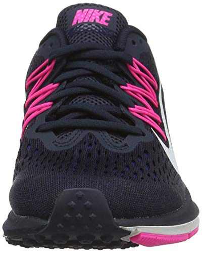 White Nike Obsidian Running dark Multicolore Femme de Chaussures Summit 401 5 Obsidian Zoom Winflo HqgrvH