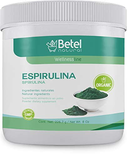 Espirulina/Organic Spirulina Powder - 8 Oz - No Fillers, Non-Irridated, and Clean!