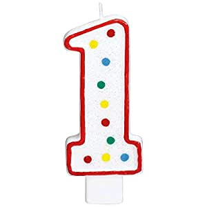 Party perfect flat molded multicolored polka for Perfect kitchen number
