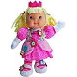 """Baby's First Premium Zip-ity Princess Baby 14"""" Soft Machine Washable Baby Doll for Boys and Girls 1+"""