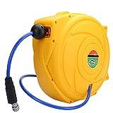 Valianto HR-820 66ft 3/8-Inch I.D. Electric Retractable Air Hose Reel