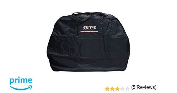 Scicon Travel Basic - Bolsa de ciclismo, color Negro, 130 x 25 x 82 cm: Amazon.es: Deportes y aire libre