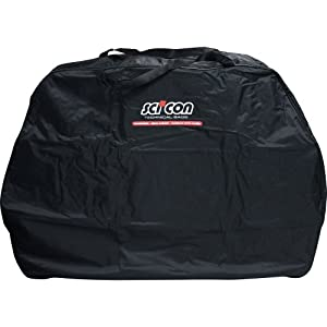 41cGrXD9LBL. SS300 Scicon Travel Basic Borsa Porta Bici, 130 X 25 X 82 Cm, Nero