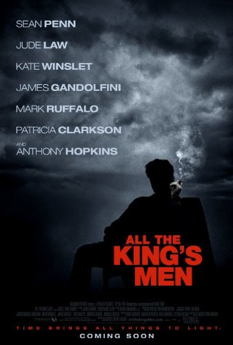 ALL THE KING'S MEN 27x40 ORIGINAL D/S MOVIE POSTER