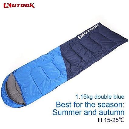 Camp Sleeping Gear Sleeping Bags Kutook Warm Splicing Sleeping Bag Outdoor Sport Waterproof Thermal Sleeping Bag Comfortable Heated Lazy Bag Adult Winter Camping