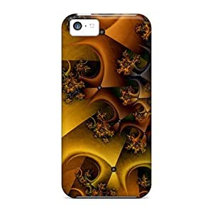 Kxy6848qaYT Faddish Fractal 3d Cases Covers For Iphone 5c