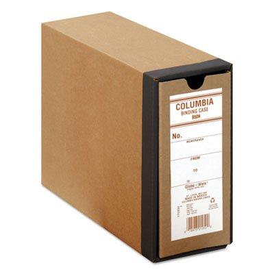 (Columbia Recycled Binding Cases, 3 1/8 Cap, 11 x 8 1/2, Kraft (10 Pack))