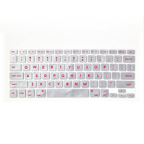 Flapjacks Keyboard Covers - Pink Silver