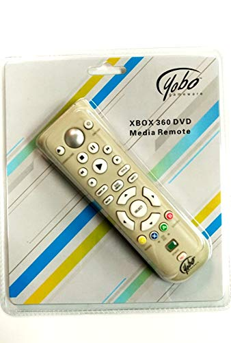 Yobo Xbox 360 DVD Media Remote Control for Microsoft Xbox 360 System