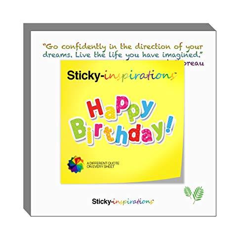 (Sticky-inspirations Inspirational Sticky Notes (Happy)