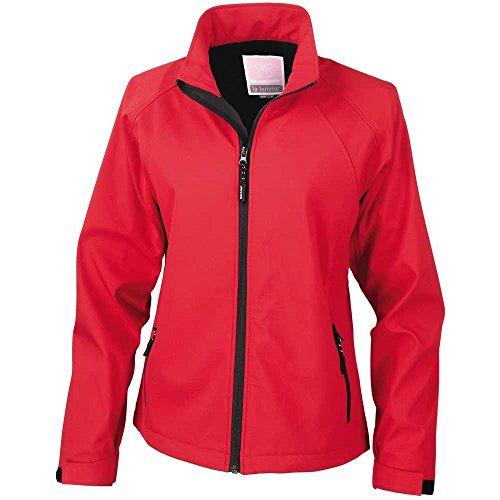 Result Women's La Femme 2 Base Layer Softshell Coat Jacket 10 - (Result 2 Layer Base)