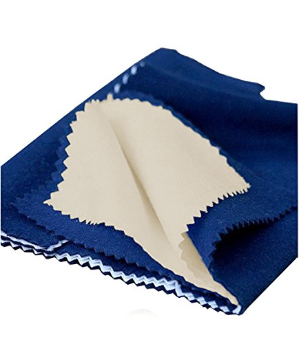 Jewelry Cleaner & Polishing Cloth for sterling silver, Gold, Copper and Brass
