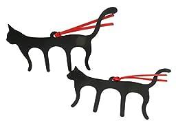 Black Cat Page Holder Bookmark 5.75\