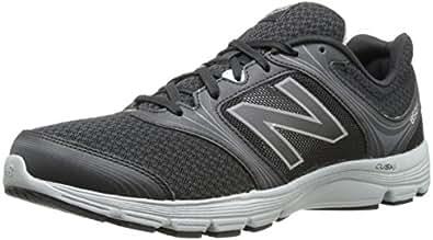 New Balance Men's M850BS1 Running Shoe,Black/Silver,7.5 4E US