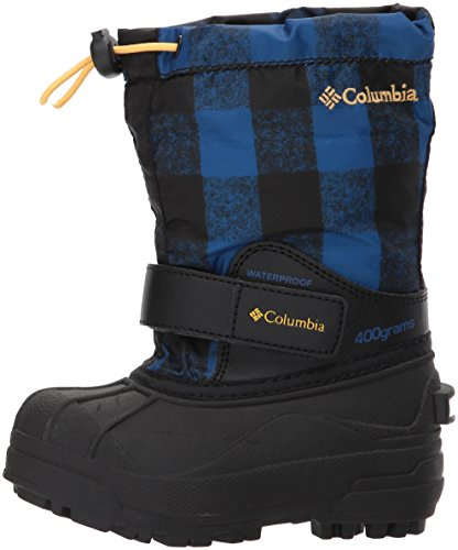 Columbia Unisex Childrens Powderbug Forty Print, Royal, Golden Nugget, 9 M US Little Kid by Columbia (Image #5)