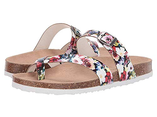 Floral Girls Sandals - Madden Girl Women's Paamy Floral Multi 8.5 M US