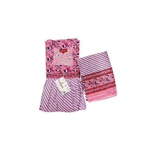 Skirt Top And Dupatta Set Mehroon
