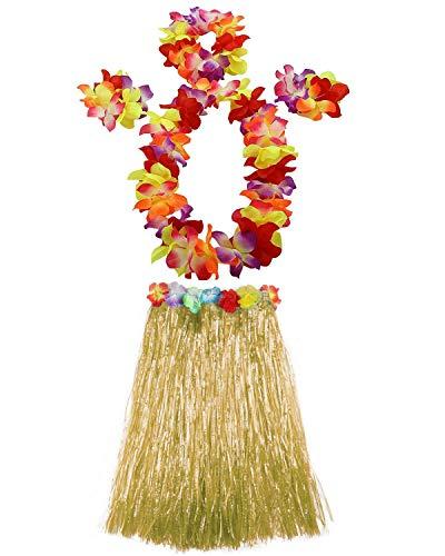 AniiKiss 1 Set 60cm Adult Hula Grass Skirt