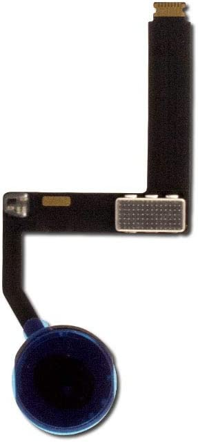 Group Vertical Replacement Home Button Flex Cable Ribbon Connector Compatible with Apple iPad Pro 9.7