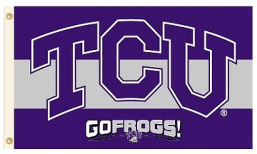 TCU (Texas Christian University) - 3' x 5' NCAA Polyester Flag