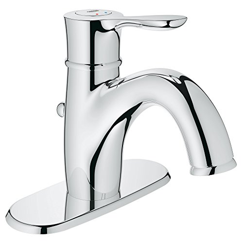 Parkfield Centerset Single-Handle Single-Hole Bathroom Faucet With Escutcheon - 1.5 (Widespread Handle Escutcheon)