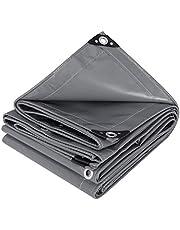 WOLTU Dekzeil bescherming PVC zeildoek 500 g/m²,Afdekzeil waterbestendig,UV-bestendig en zon bescherming,#1256