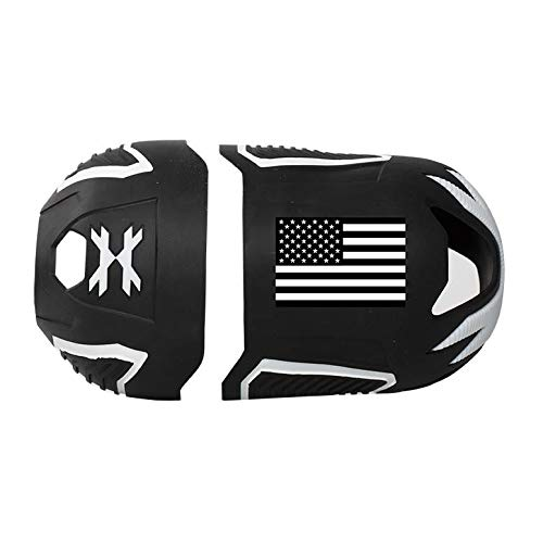 HK Army Vice FC Tank Cover - Fits 48ci, 68ci, 80ci (USA Black/White) by HK Army