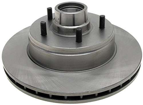ACDelco 18A399A Advantage Non-Coated Front Disc Brake Rotor and Hub Assembly