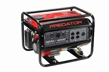 4000 Peak/3200 Running Watts, 6.5 HP (212cc) Generator EPA III Special