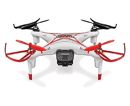 World Tech Toys 2.4Ghz Nano Wraith Spy Drone with Video Camera 4.5 Channel RC Quadcopter