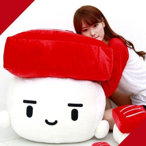 """bedding TUNA Sushi Cushion hit gift pillow 28"""""""