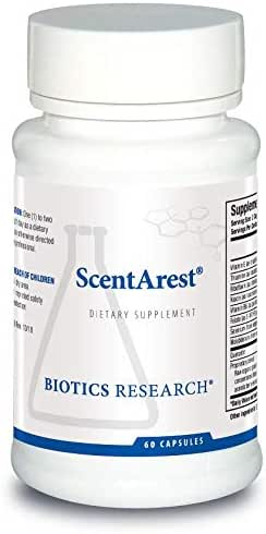 Biotics Research ScentArest® – Designed and Clinically Tested by Dr. Mark Force. Supports Healthy Functioning of Liver Detoxification Pathways, Urea Cycle, Methylation. Vitamin E, Riboflavin 60C