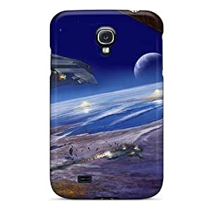 Anti-scratch And Shatterproof Halo 3 Video Game Phone Case For Galaxy S4/ High Quality Tpu Case
