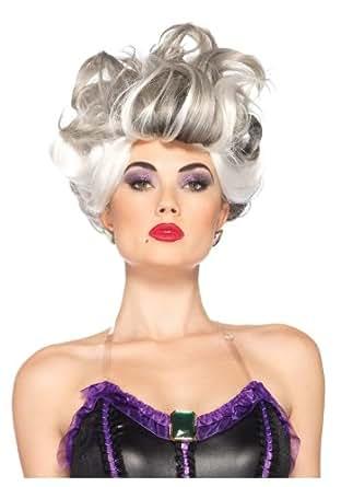 Leg Avenue Disney Ursula Wig, Grey, One Size