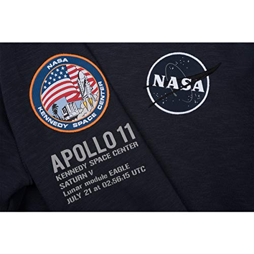 l Farbe Industries Größe Alpha Kapuzenpullover rep blue 11 Apollo Men's 6nfnqP